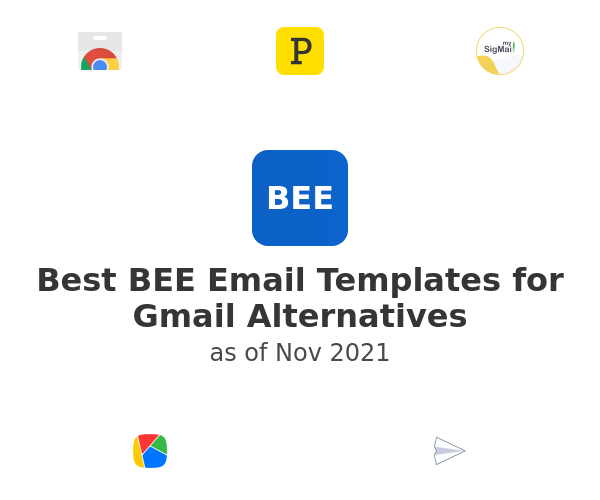 Best BEE Email Templates for Gmail Alternatives