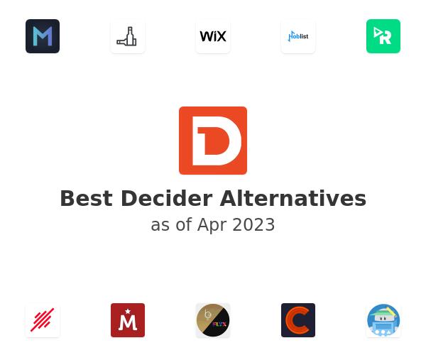 Best Decider Alternatives