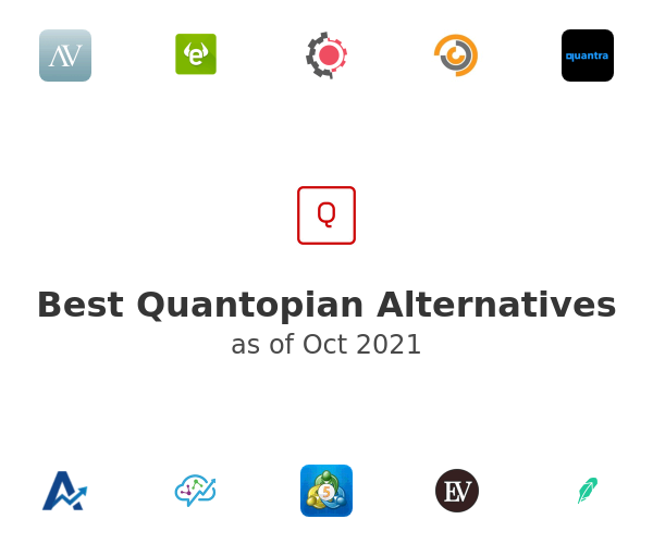Best Quantopian Alternatives
