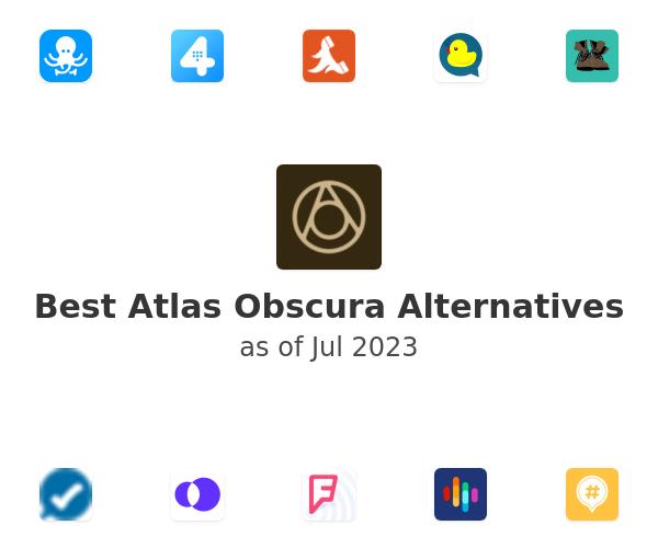 Best Atlas Obscura Alternatives