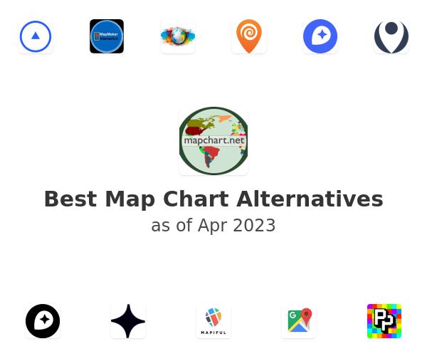 Best Map Chart Alternatives