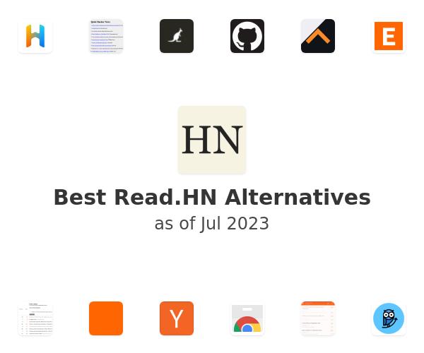 Best Read.HN Alternatives