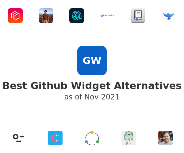 Best Github Widget Alternatives