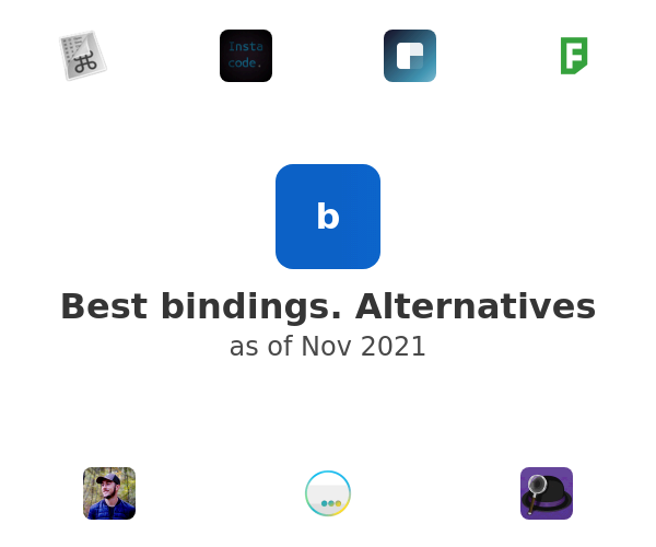 Best bindings. Alternatives