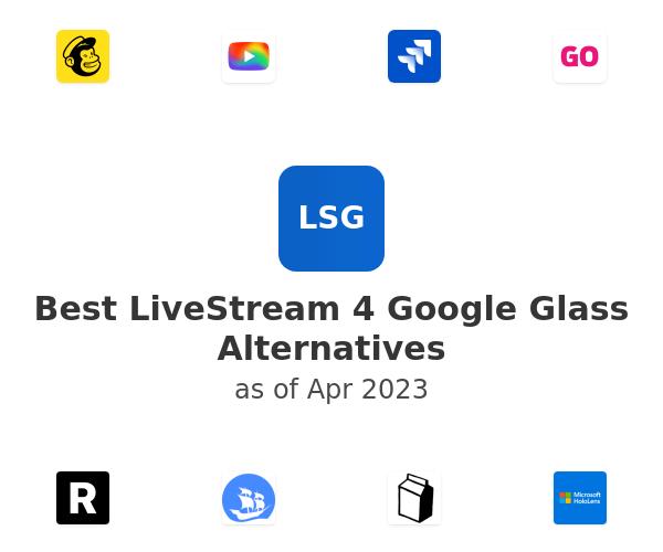 Best LiveStream 4 Google Glass Alternatives