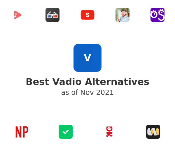 Best Vadio Alternatives