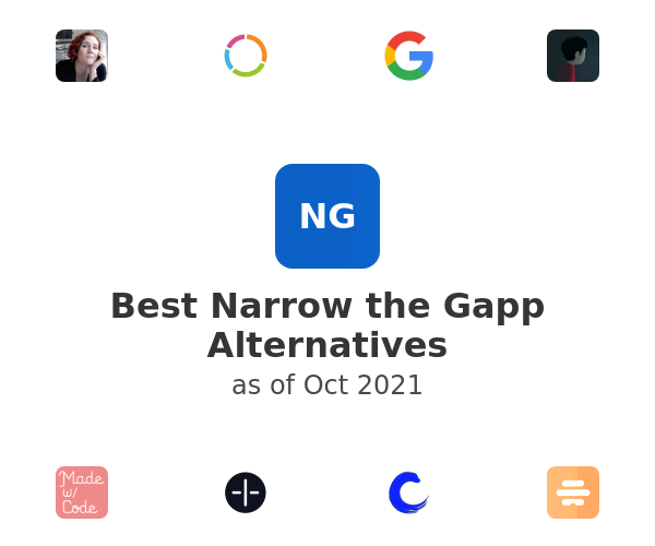 Best Narrow the Gapp Alternatives