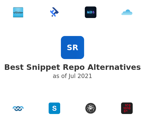Best Snippet Repo Alternatives
