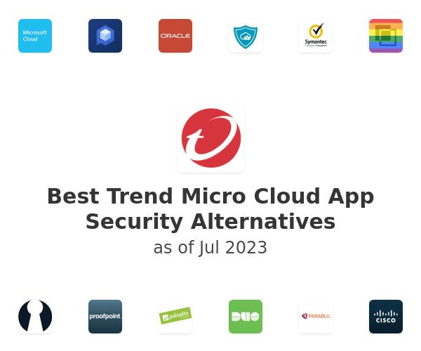 Best Trend Micro Cloud App Security Alternatives