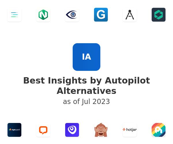 Best Insights by Autopilot Alternatives