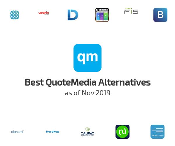 Best QuoteMedia Alternatives