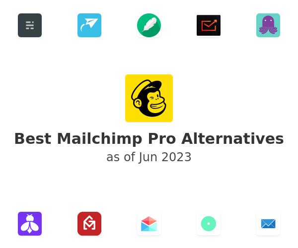 Best Mailchimp Pro Alternatives
