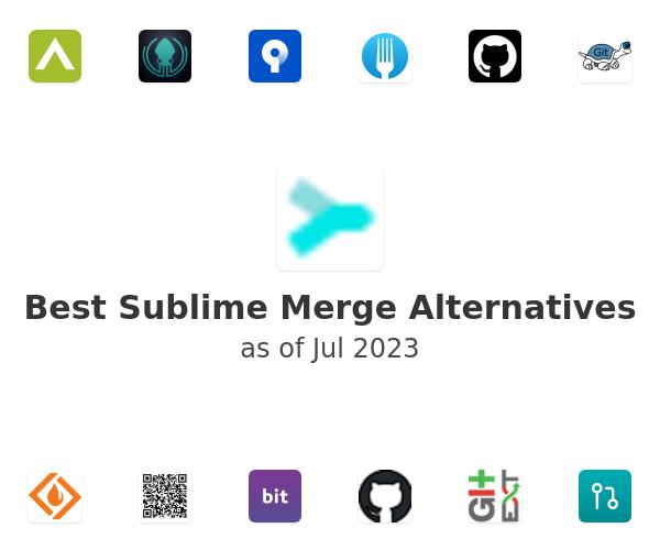 Best Sublime Merge Alternatives