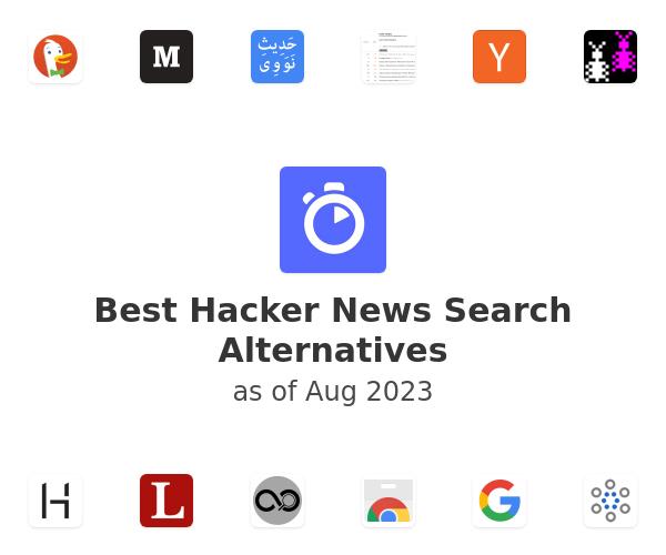 Best Hacker News Search Alternatives