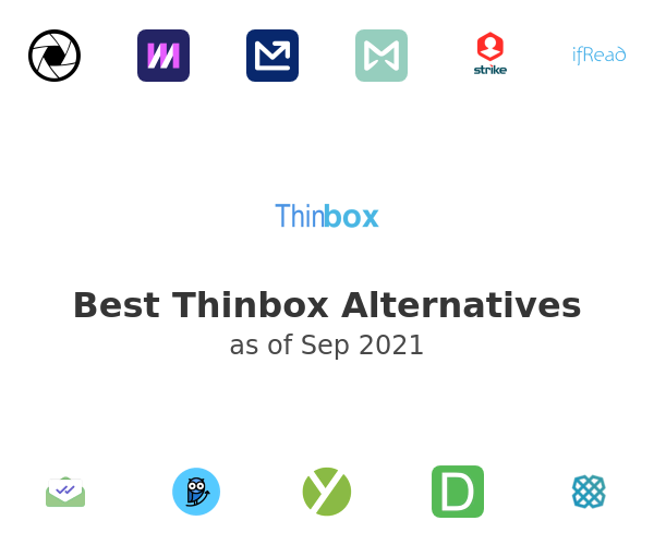 Best Thinbox Alternatives
