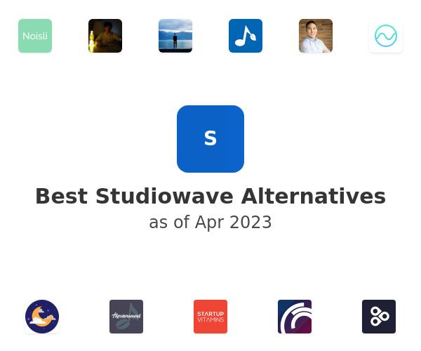 Best Studiowave Alternatives