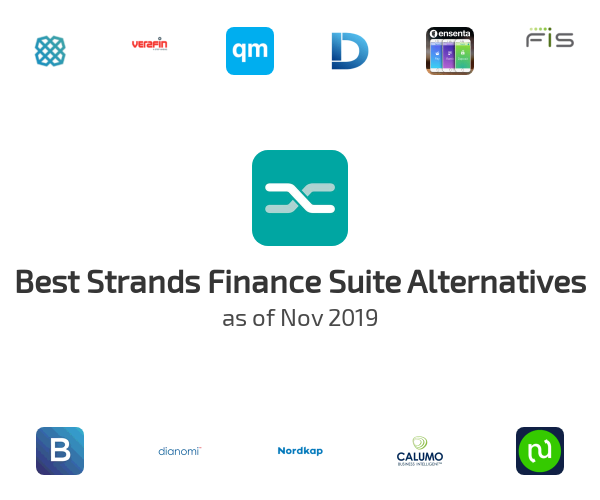 Best Strands Finance Suite Alternatives