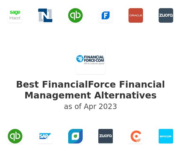 Best FinancialForce Financial Management Alternatives