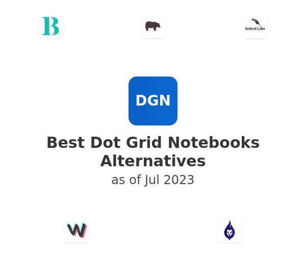 Best Dot Grid Notebooks Alternatives