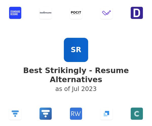 Best Strikingly - Resume Alternatives