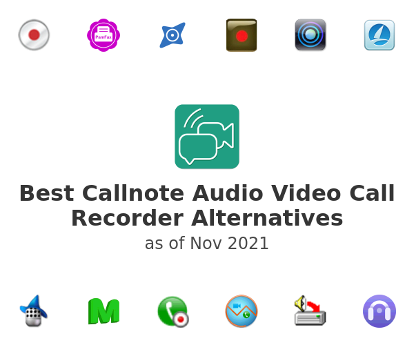 Best Callnote Audio Video Call Recorder Alternatives