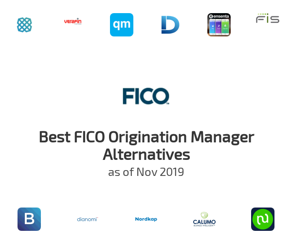Best FICO Origination Manager Alternatives