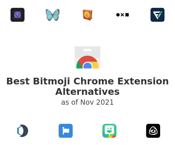 Best Bitmoji Chrome Extension Alternatives