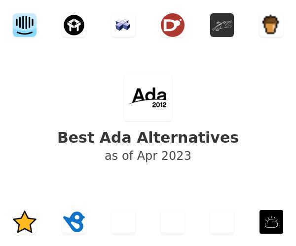 Best Ada Alternatives
