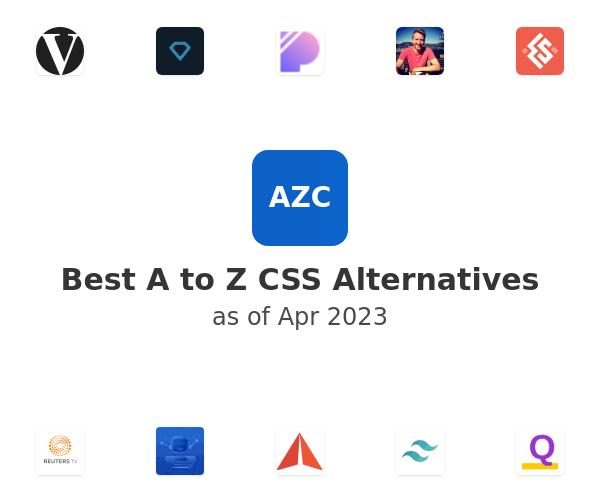 Best A to Z CSS Alternatives