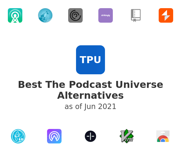 Best The Podcast Universe Alternatives
