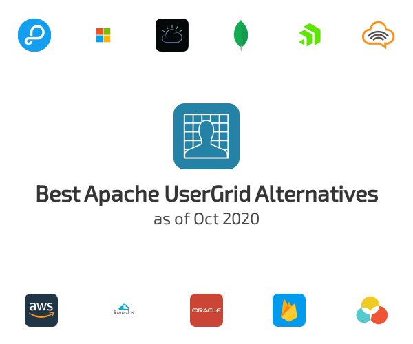 Best Apache UserGrid Alternatives