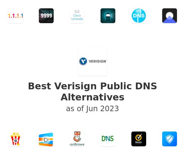Best Verisign Public DNS Alternatives