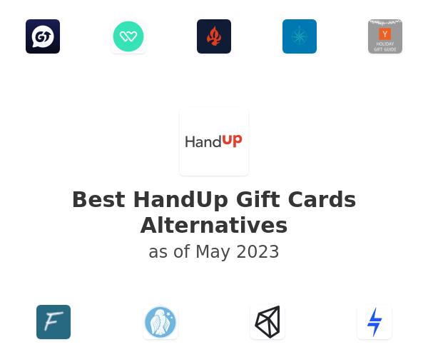 Best HandUp Gift Cards Alternatives