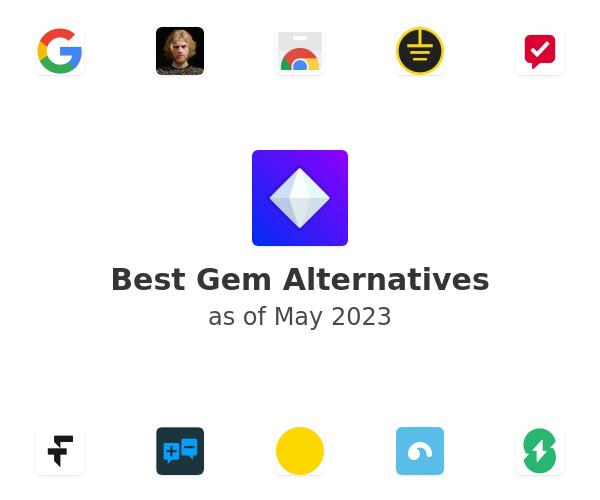 Best Gem Alternatives