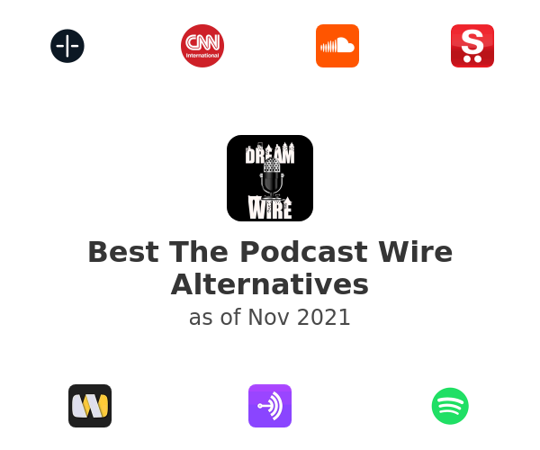 Best The Podcast Wire Alternatives