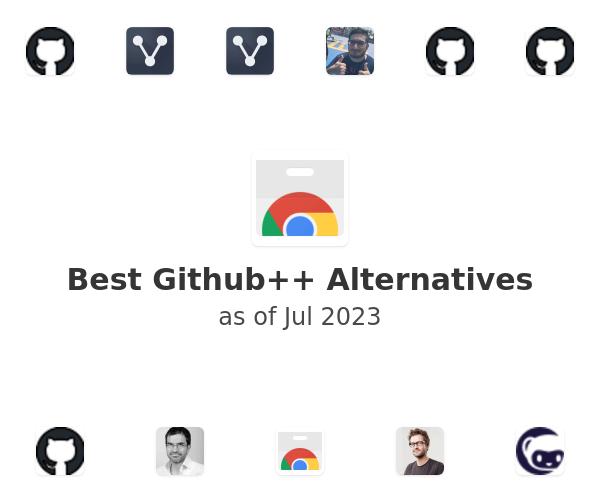 Best Github++ Alternatives