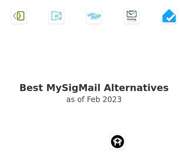 Best MySigMail Alternatives