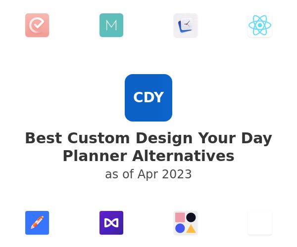 Best Custom Design Your Day Planner Alternatives