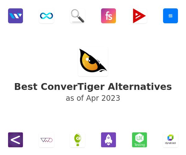 Best ConverTiger Alternatives