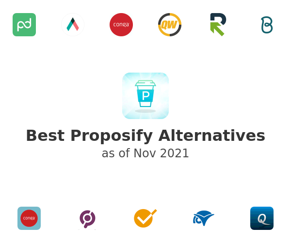 Best Proposify Alternatives