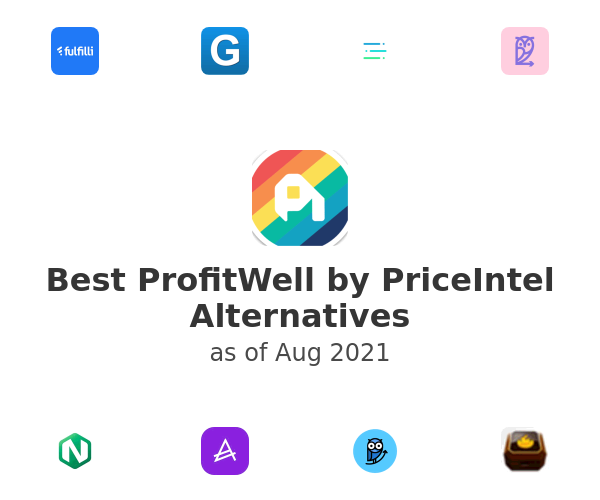 Best ProfitWell by PriceIntel Alternatives