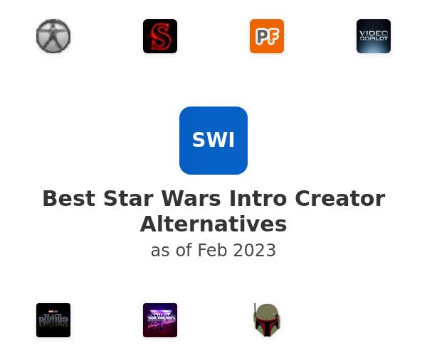 Best Star Wars Intro Creator Alternatives