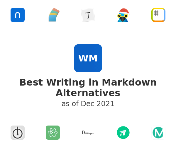 Best Writing in Markdown Alternatives