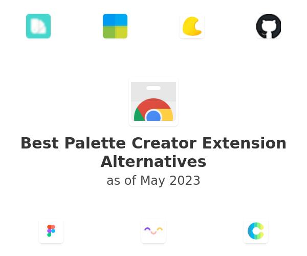 Best Palette Creator Alternatives