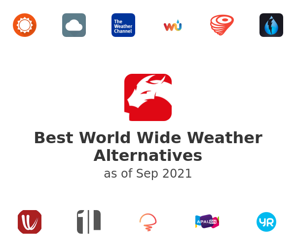 Best World Wide Weather Alternatives