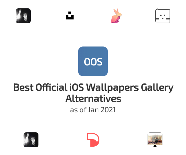 Best Official iOS Wallpapers Gallery Alternatives