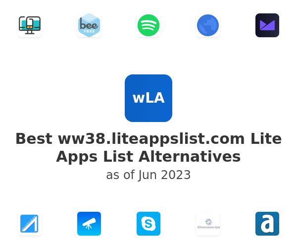 Best Lite Apps List Alternatives