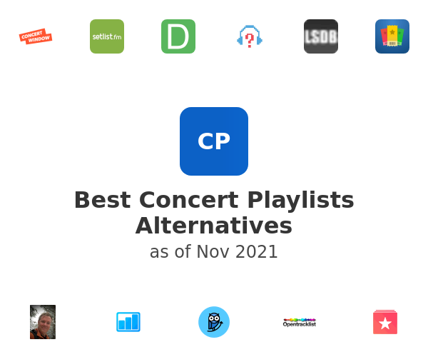 Best Concert Playlists Alternatives