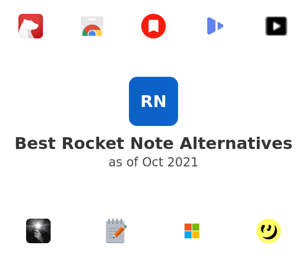 Best Rocket Note Alternatives