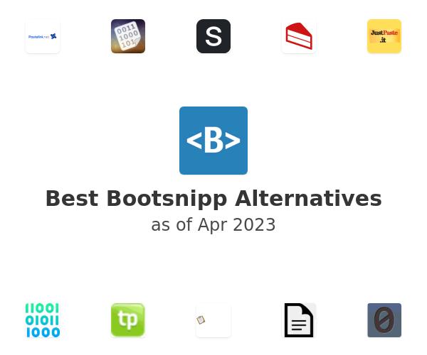Best Bootsnipp Alternatives